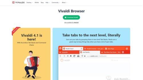Vivaldi browser review