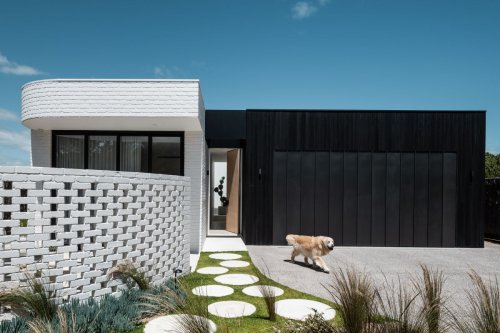 This beach house in Australia breaks tradition with a more modern design approach