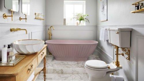 Joanna Gaines shared an extravagant bathroom lighting tip to make a bathroom feel bigger