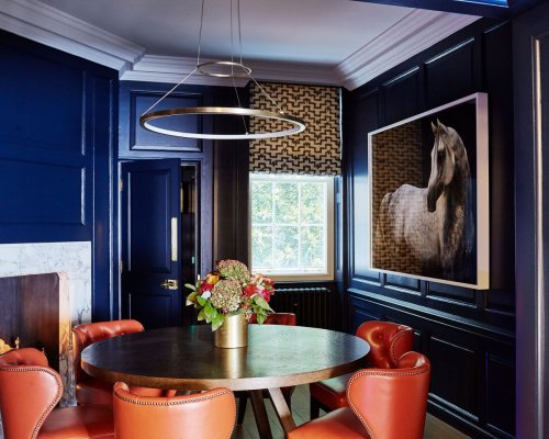 Find the best shade for your space with these dining room color schemes