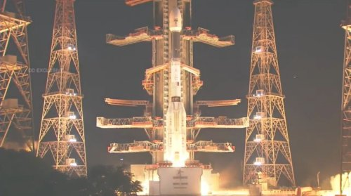 Indian rocket suffers catastrophic failure during launch, Earth-watching satellite lost