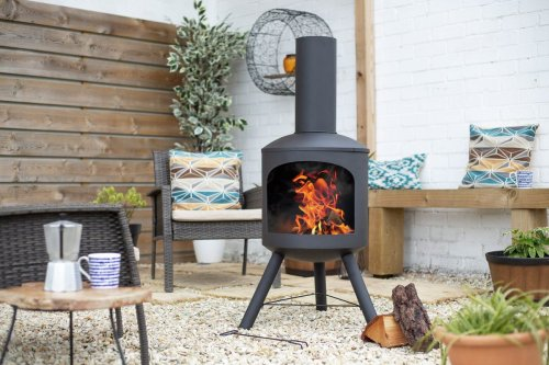 These chiminea ideas will guarantee a cosy space this summer