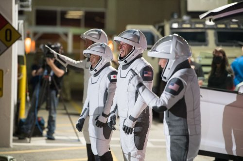 These 4 Crew-2 astronauts are ready to ride a SpaceX rocket into orbit