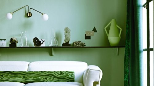 Interior designers reveal the exact shade of green paint they use in their homes
