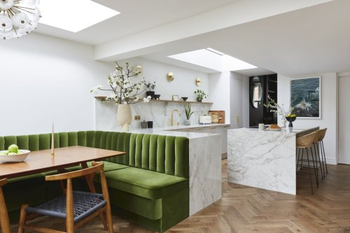 15 transformative built-in seating ideas for your kitchen island