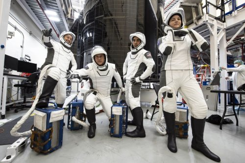 Crew-3 astronauts excited to ride SpaceX's Dragon on Halloween