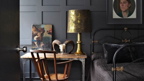 Black bedroom ideas are back and better than ever