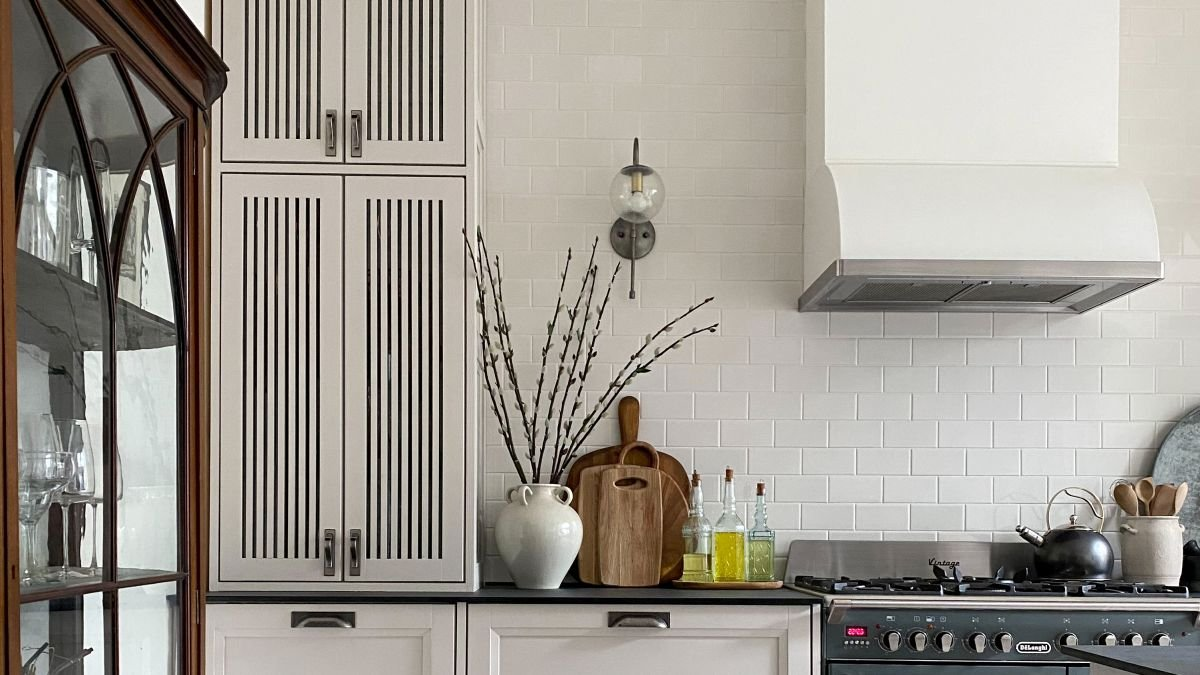 This IKEA cabinet transformation has elevated a dated kitchen into a chic interior paradise
