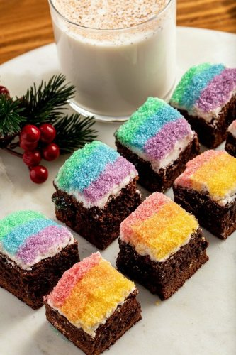 Gingerbread brownies – try this easy recipe by The Home Edit's Joanna and Clea