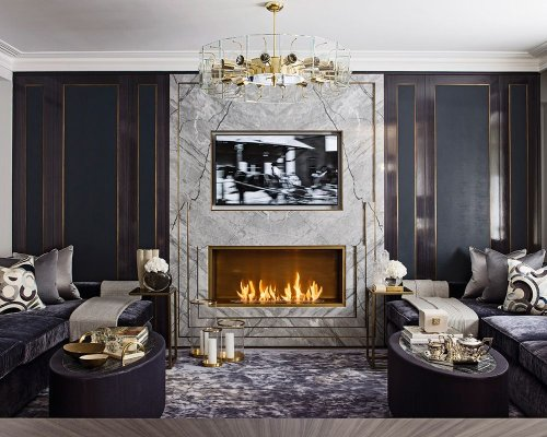 Glamorous home decor is trending and these are the latest luxe looks
