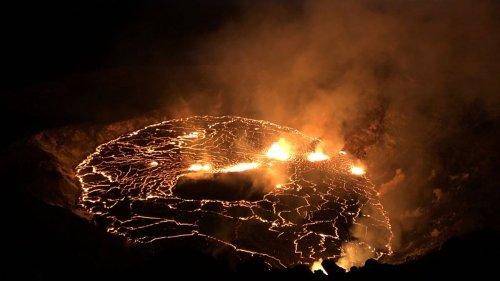 Lava eruption at Kilauea spews 'Pele's hair' volcanic glass into Hawaii's skies