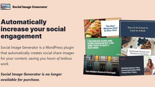 Automattic buys Social Image Generator plugin for WordPress revamp