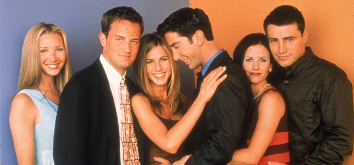 Jennifer Aniston and David Schwimmer were crushing on each other during 'Friends' and fans are losing it