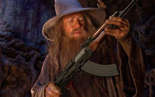 How a meme of Gandalf holding an AK-47 inspired survival sandbox Wizard with a Gun