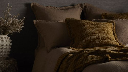 Give your bed a designer approved upgrade with Abigail Ahern's new bedding collection