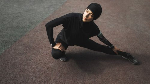Sweaty Betty has introduced a new activewear hijab for fitness enthusiasts