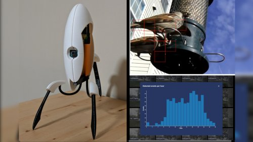 Raspberry Pi Portal Turret Protects Your Home with Motion Activated Camera