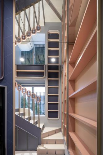 Explore this space-saving, futuristic and dream-like apartment in Shanghai