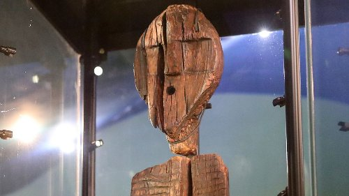 Creepy sculpture with human faces is even older than experts thought