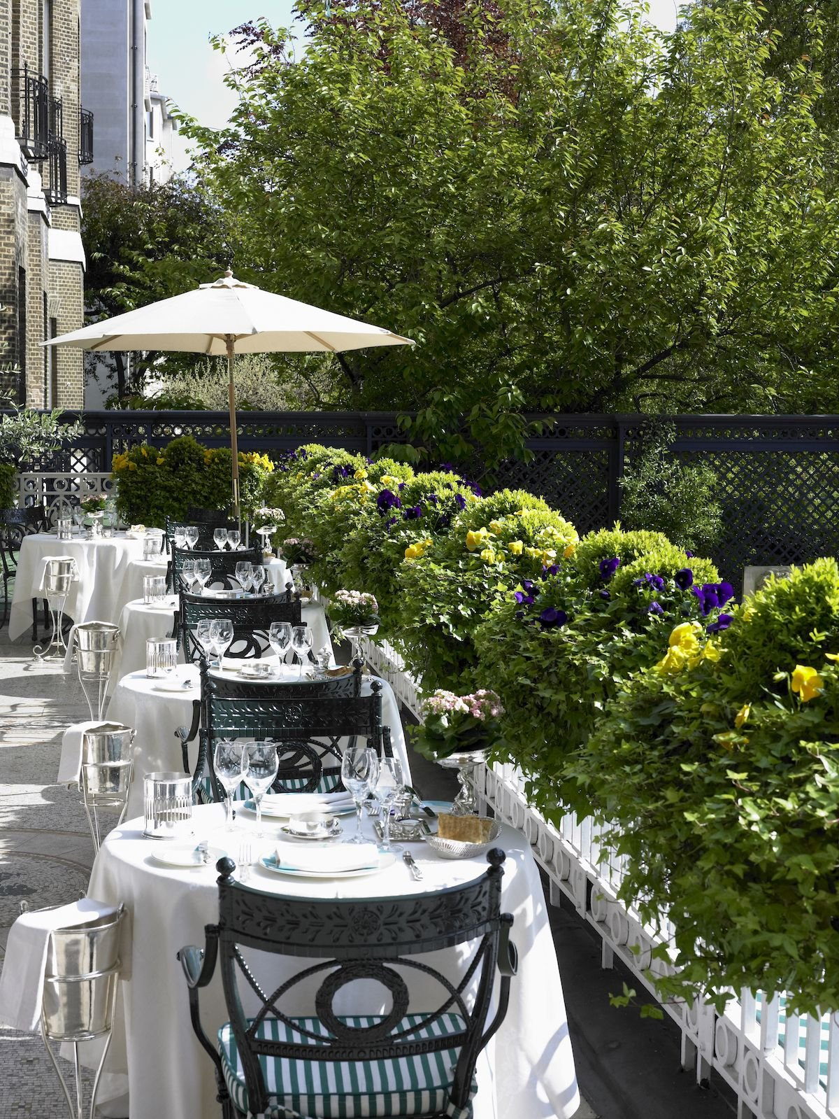 The most stylish outdoor terraces in London