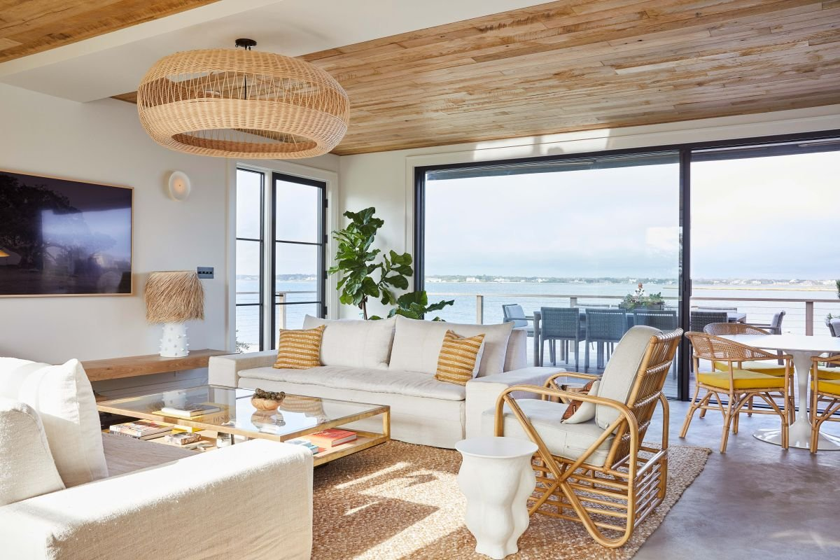 This light-filled Westhampton beach house shows how nautical style should be done