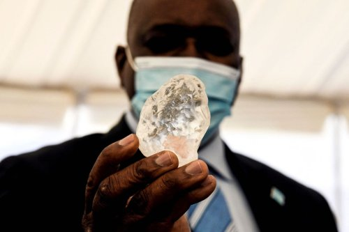 Third-largest diamond on Earth uncovered in Africa, miners say