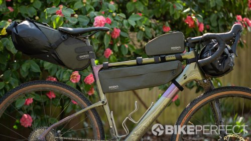 Brooks Scape bikepacking bags review