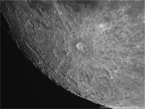 In the light of the Super Pink Moon, look for the radiant Tycho crater