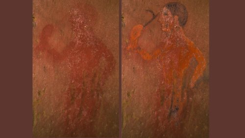 Hidden scenes in ancient Etruscan paintings revealed