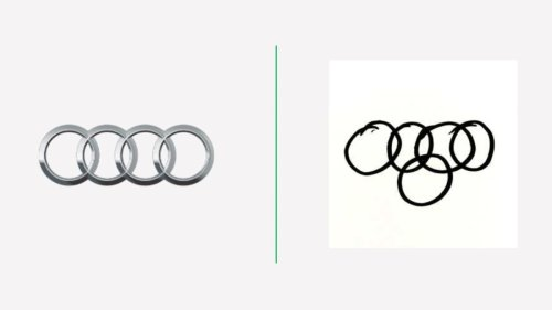 People drew car logos from memory and the results are unbelievable