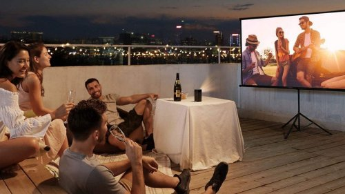 Liven up your garden parties with these top projectors
