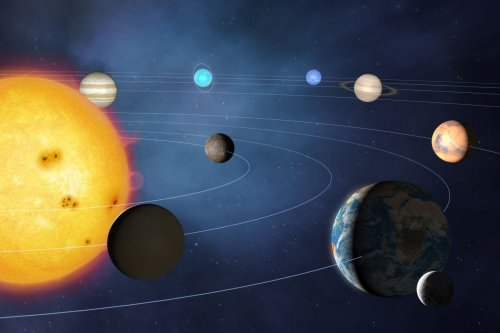 What does the edge of the solar system look like?