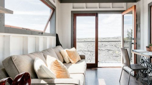See inside this tiny house situated on a volcanic lava field in Hawaii