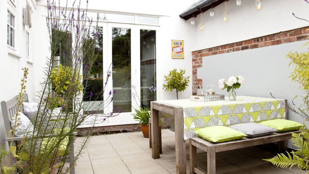 Garden makeover: a low-maintenance courtyard transformed on a budget