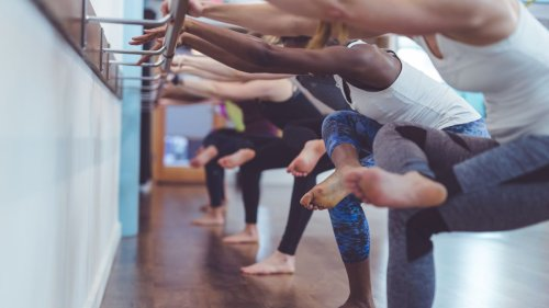 Why barre is a perfect high-intensity, low-impact workout – and how to do it at home