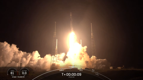 SpaceX rocket launches another 60 Starlink satellites, nails its 7th landing at sea