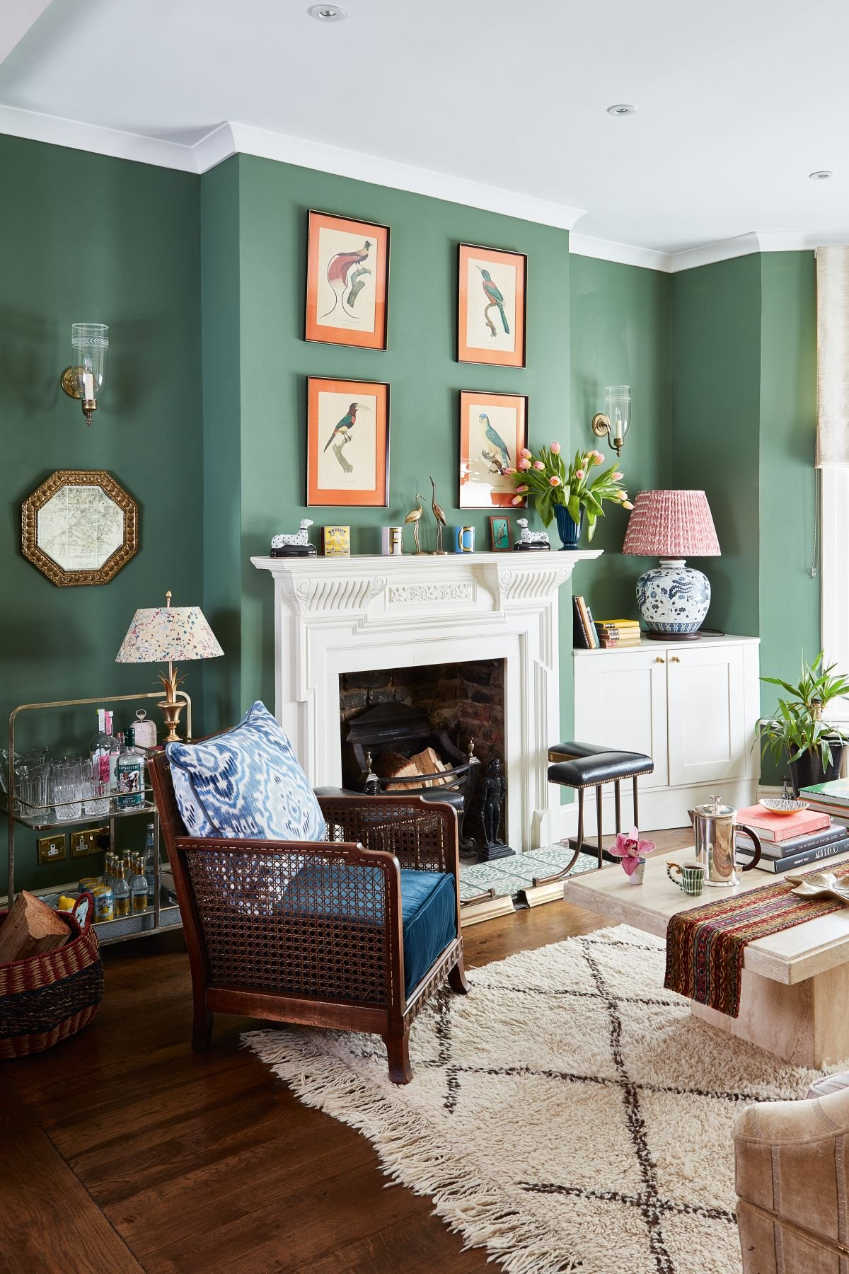 25 green living room ideas that are the perfect spring refresh