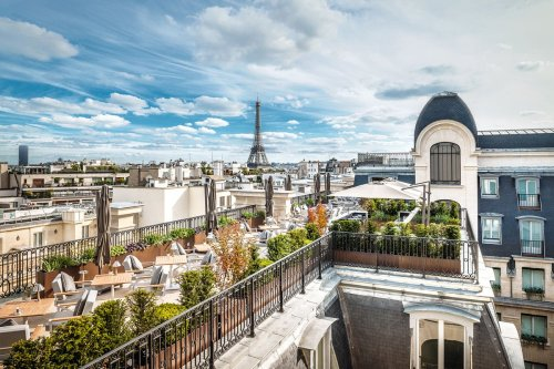 These chic Paris hotels are so inspiring