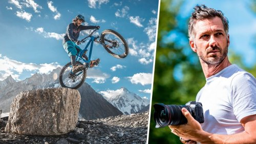 Professional mountain bike photographer reveals what's inside his kit bag