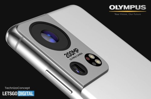 Samsung Galaxy S22 Ultra renders tease new Olympus camera