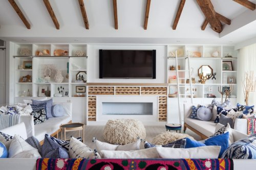 Step inside this eclectic beach house with inspiring interiors