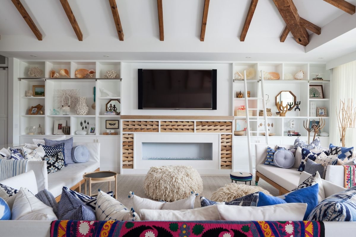 A Modern, Eclectic Beach House With Oodles Of Space For A Growing Family