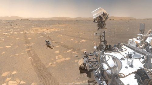 Perseverance rover marks 100th Mars day on the Red Planet