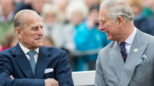 Prince Charles says Prince Philip's death left an 'empty seat' at the Royal Family's table as he gives heartbreaking nod to his father