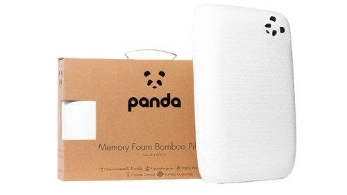 PANDA memory foam pillow review