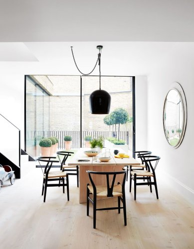 Step inside this modern Scandi terraced house in south west London