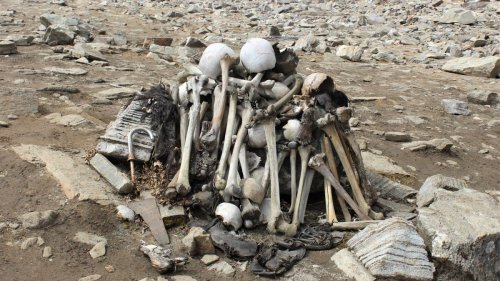 Hundreds of skeletons fill this remote Himalayan lake. How did they get there?