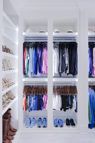 These wardrobe organisers and storage solutions will make choosing an outfit a breeze