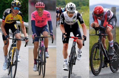 Who are the Americans riding the Tour de France 2021?