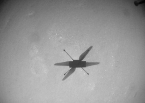 NASA's Mars helicopter soars past 1-mile mark in 10th flight over Red Planet